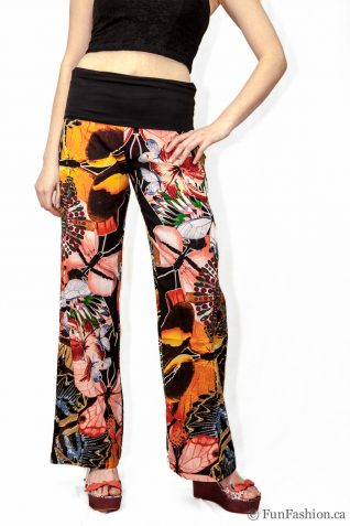 "41P2641 Desigual Pants ""Otton"", Canada, Fun Fashion"