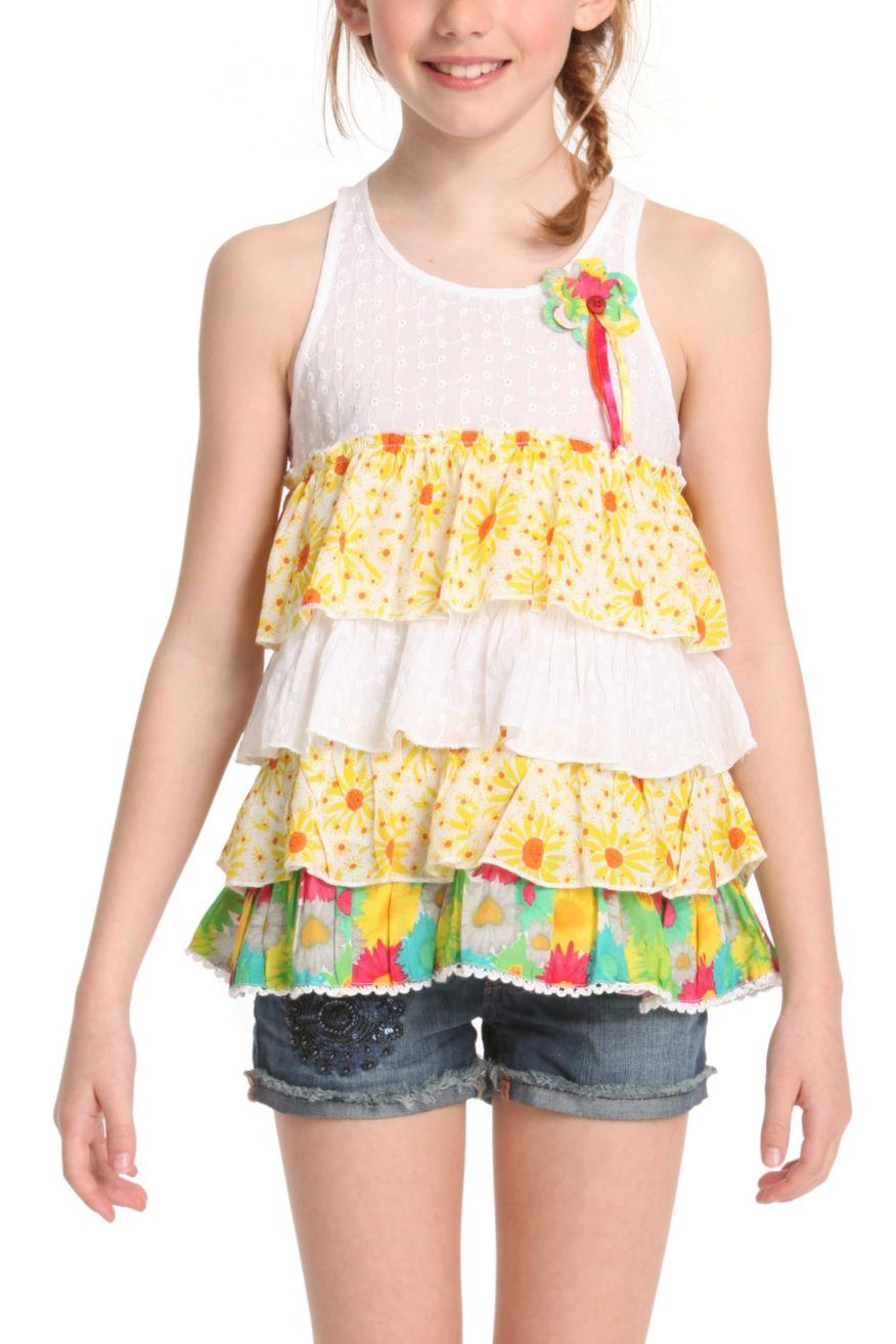 Desigual Girls Shirt Napols, Canada