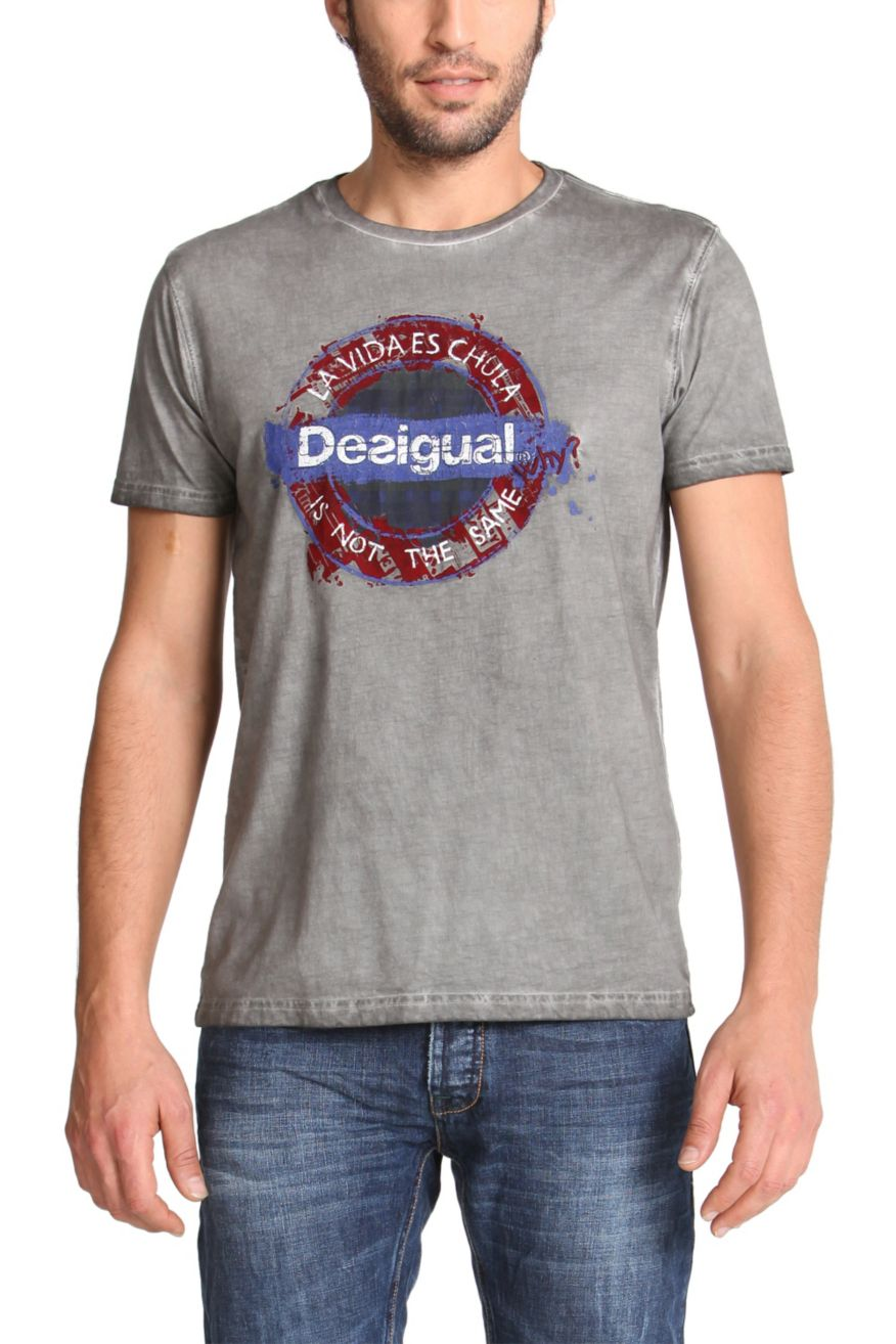 desigual men 39 s t shirt underground dsgl 47t1418 fun fashion canada. Black Bedroom Furniture Sets. Home Design Ideas
