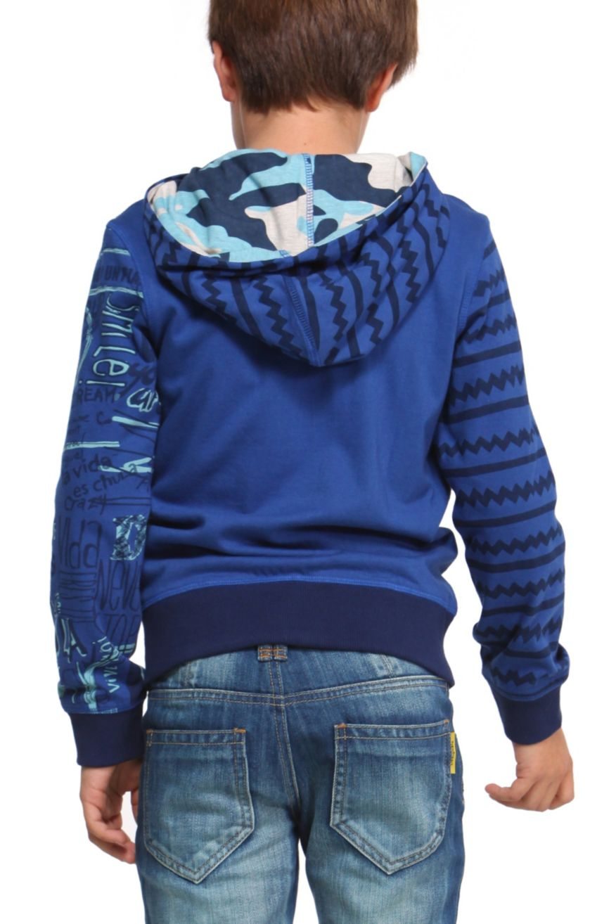 Desigual Boys Sweater Quot Eris Quot 47s3668 Fun Fashion Canada