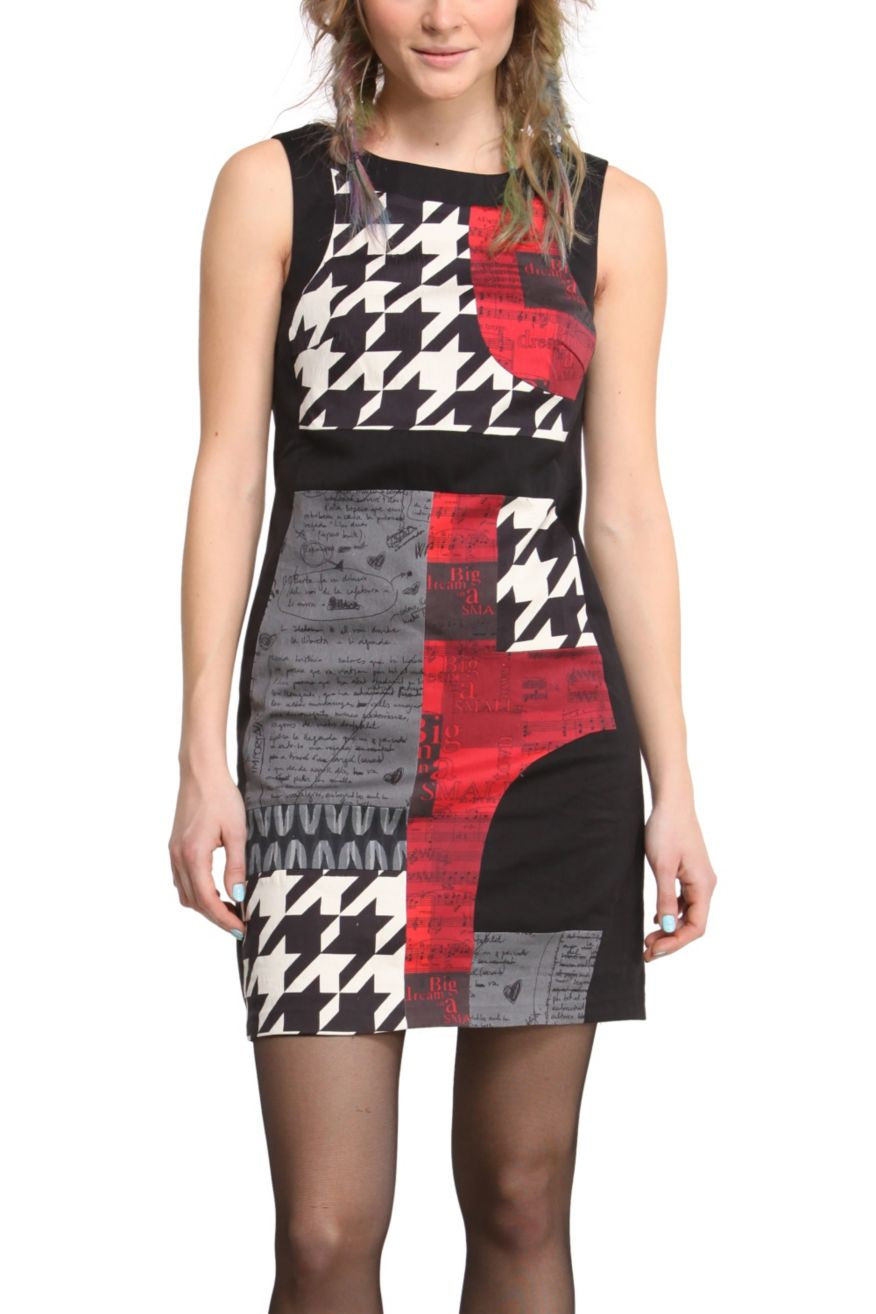 Desigual dress black and white