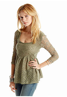 Free People Top Gracie Lace