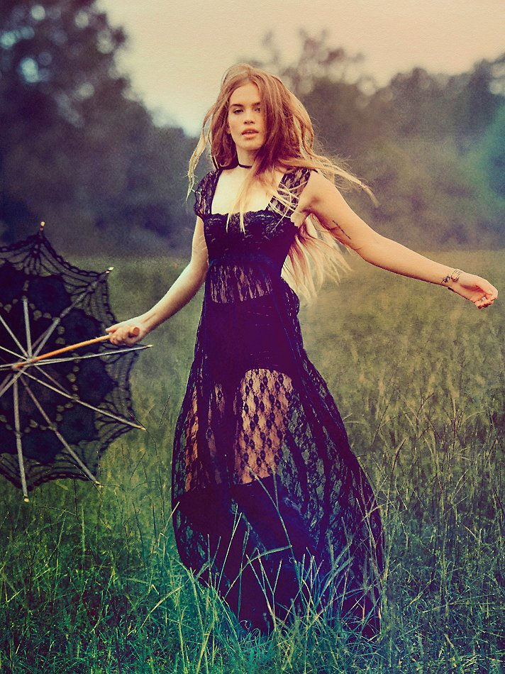 Free People Dress Quot Romance In The Air Quot F187n633 Navy