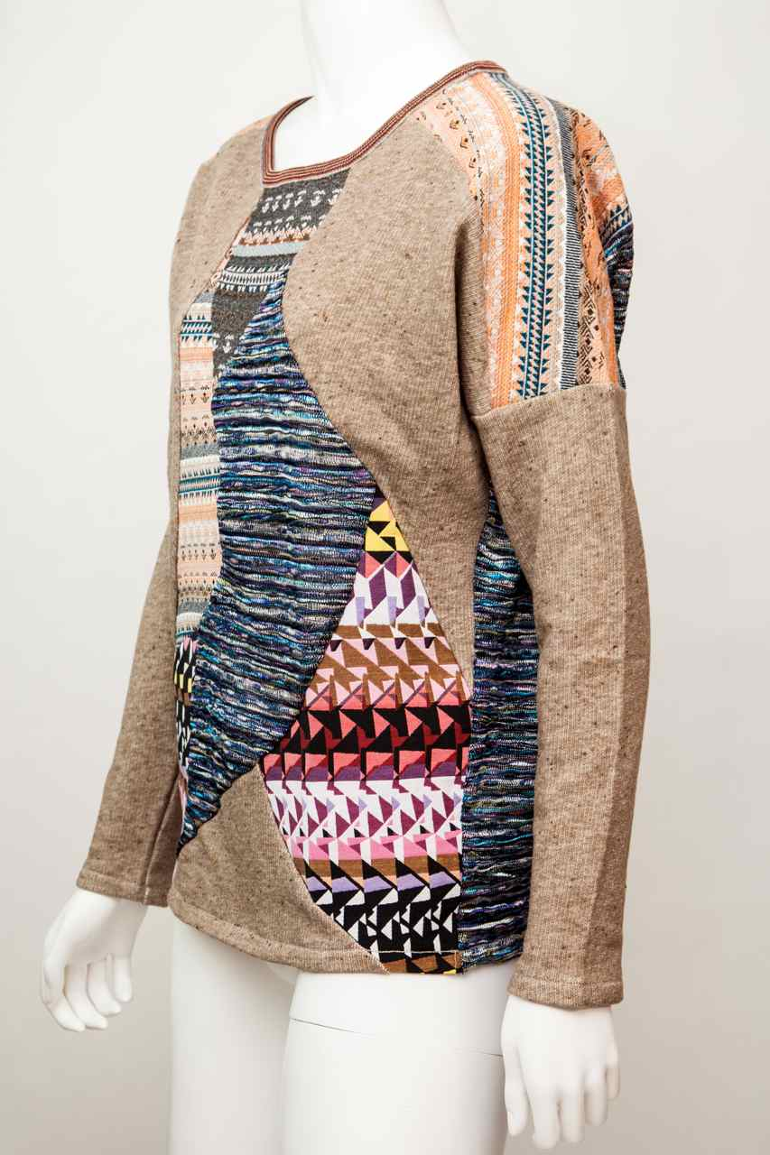 Custo Barcelona Sweater Quot Asia Tetris Quot 3291807 Patched