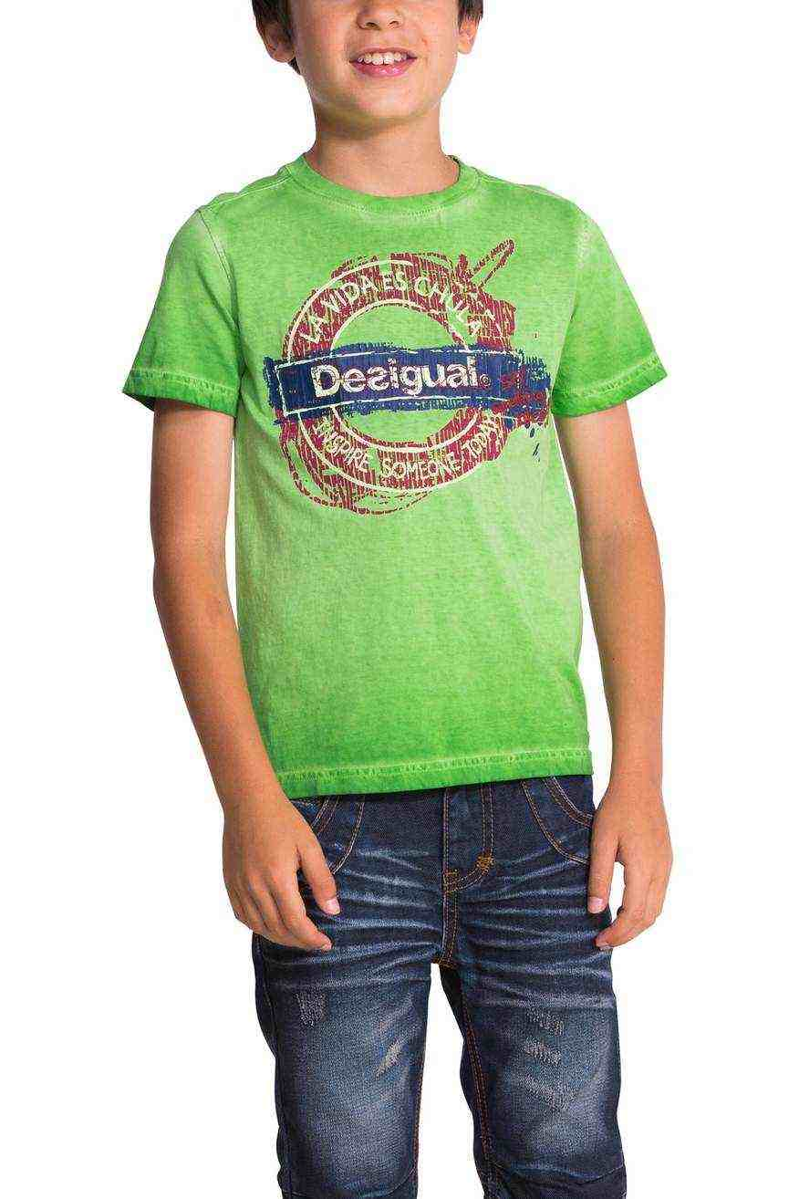 desigual boys t shirt season 50t36c5. Black Bedroom Furniture Sets. Home Design Ideas