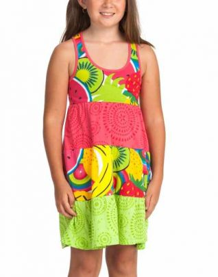52v32b8_4090 Desigual Dress Branaiven, Fruity design
