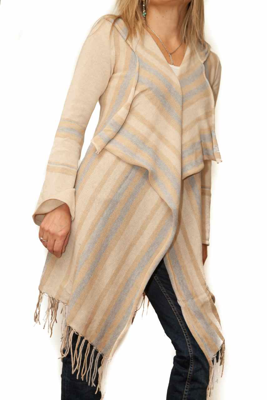 Alashan Cashmere Oasis Stripe Cardigan