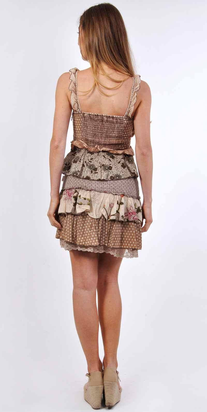 Savage Culture Dress Alba 28053 Ruffled Short Dress