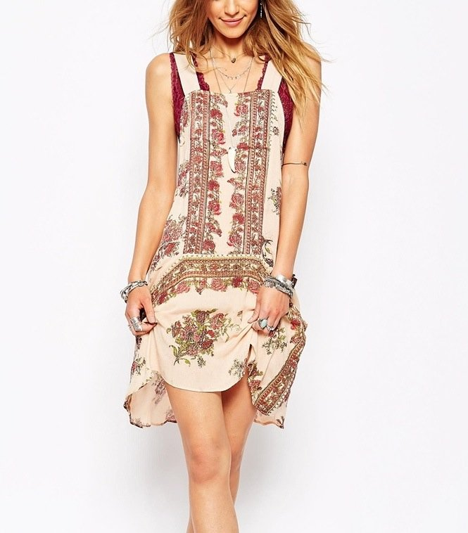 OB406274_1064 Free People Dress Paradise Song, Canada