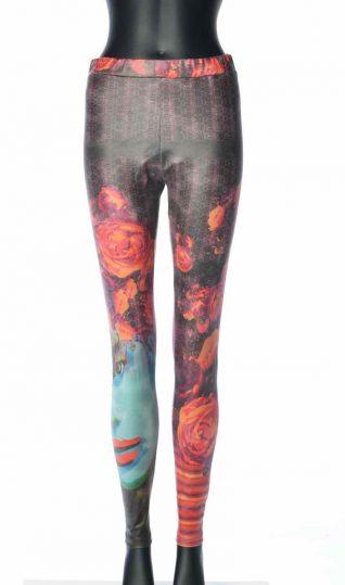 300 LC VOLT Design Legging IRIS, Black with Face