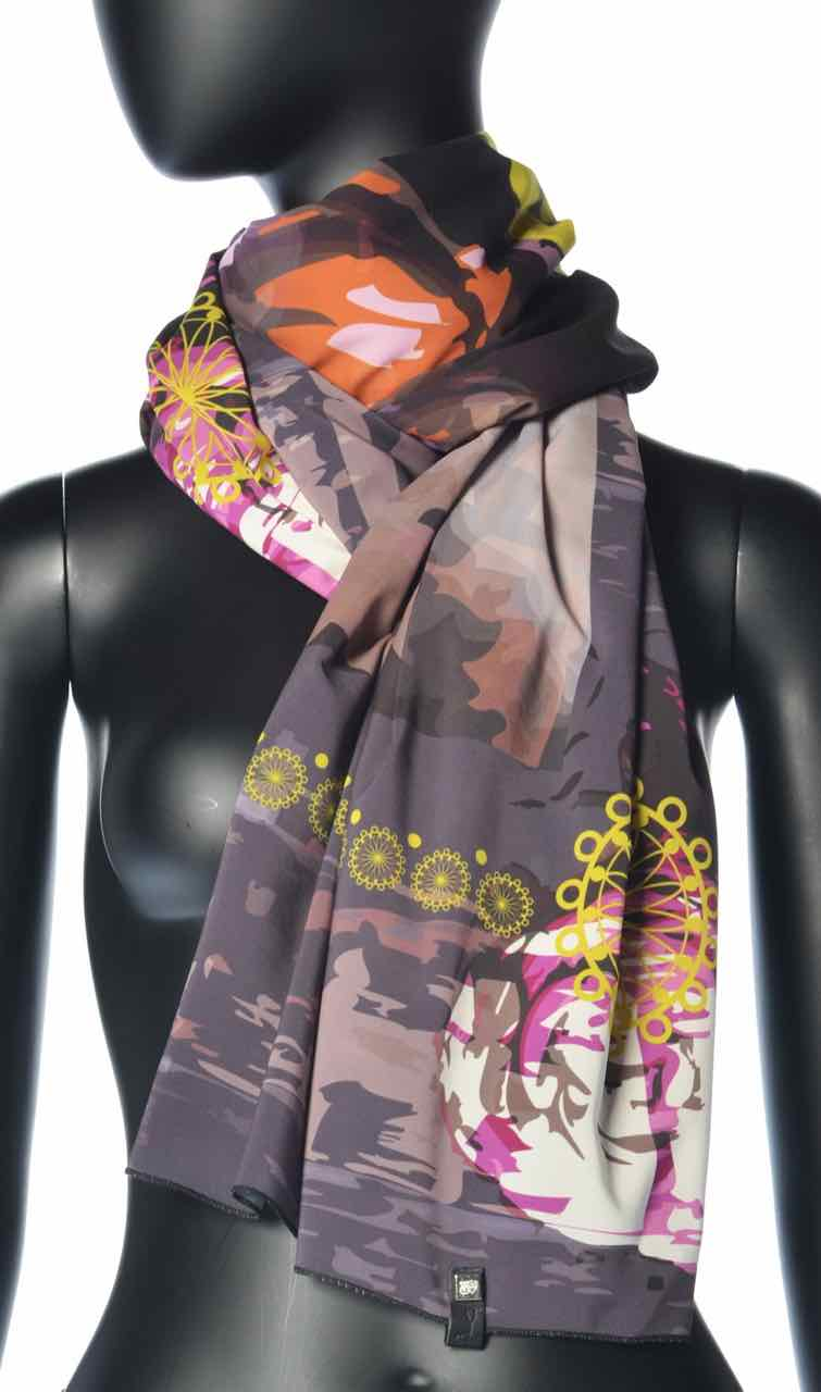 VOLT Design Scarf PIVO, Purple