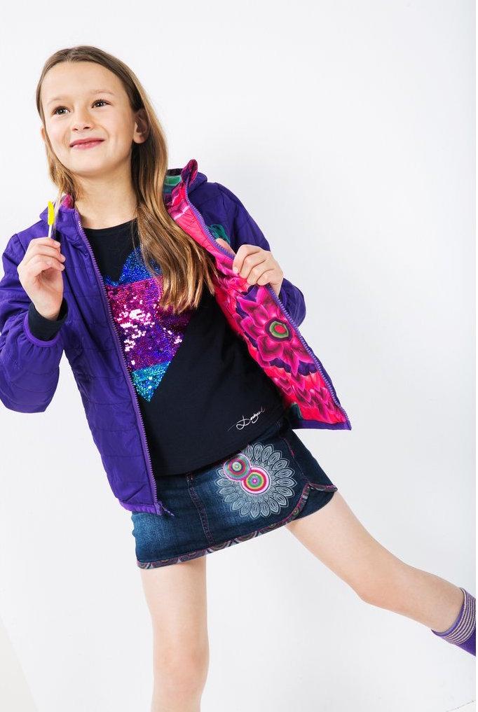 201e0679f42 56E34C8 3022 Desigual Girl Coat Neoporte. Desigual ...