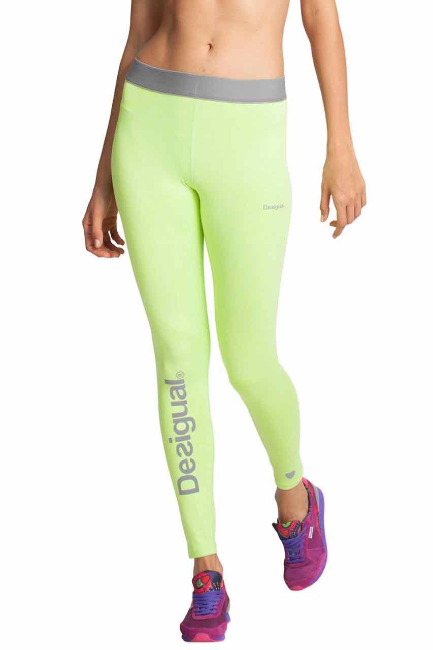 56K2SB2_4140 Desigual Sport Pants Naranja Lime, Buy Online