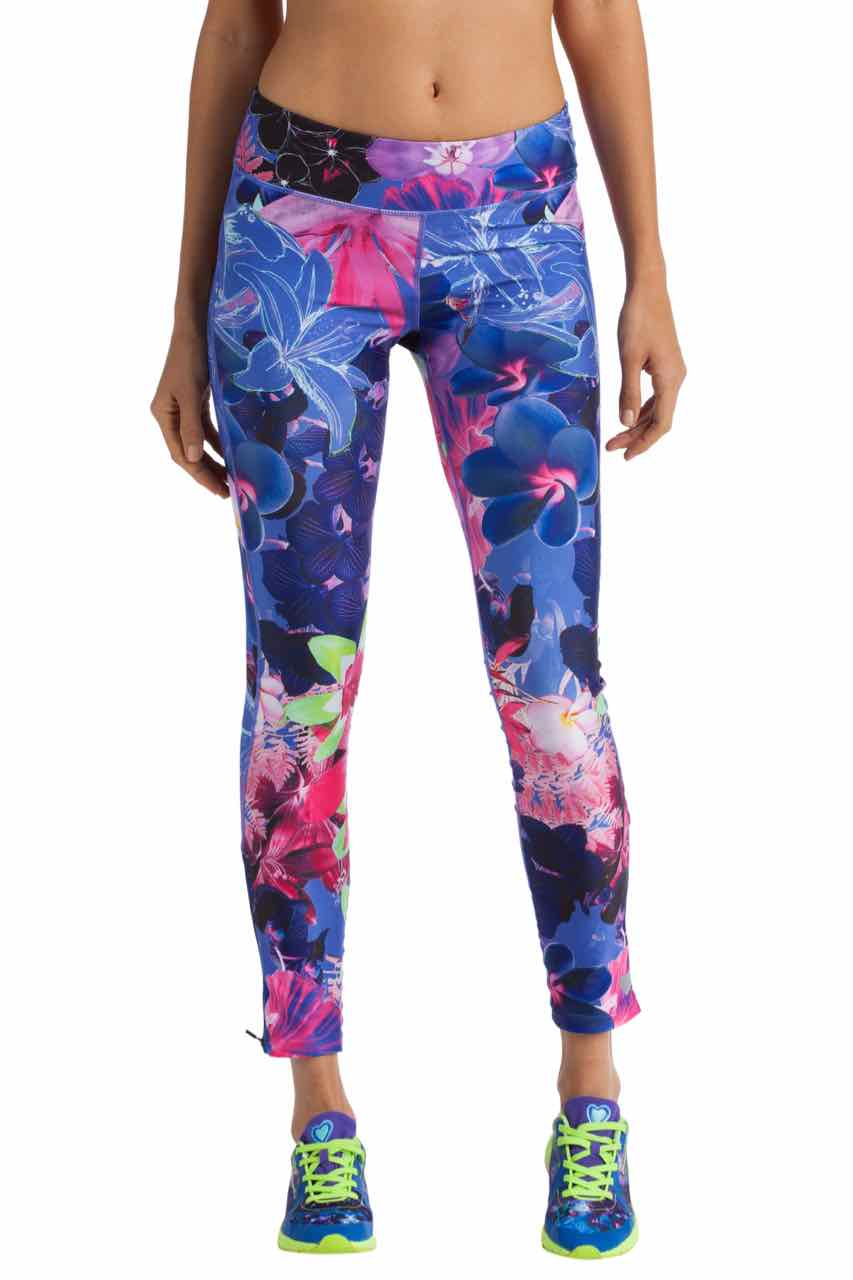 57K2SC6_5158 Desigual Sport Pants Esther Floral Blue, Buy ONline