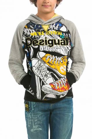 57S36D7_2042 Desigual Boy Sweater Jeff, Canada