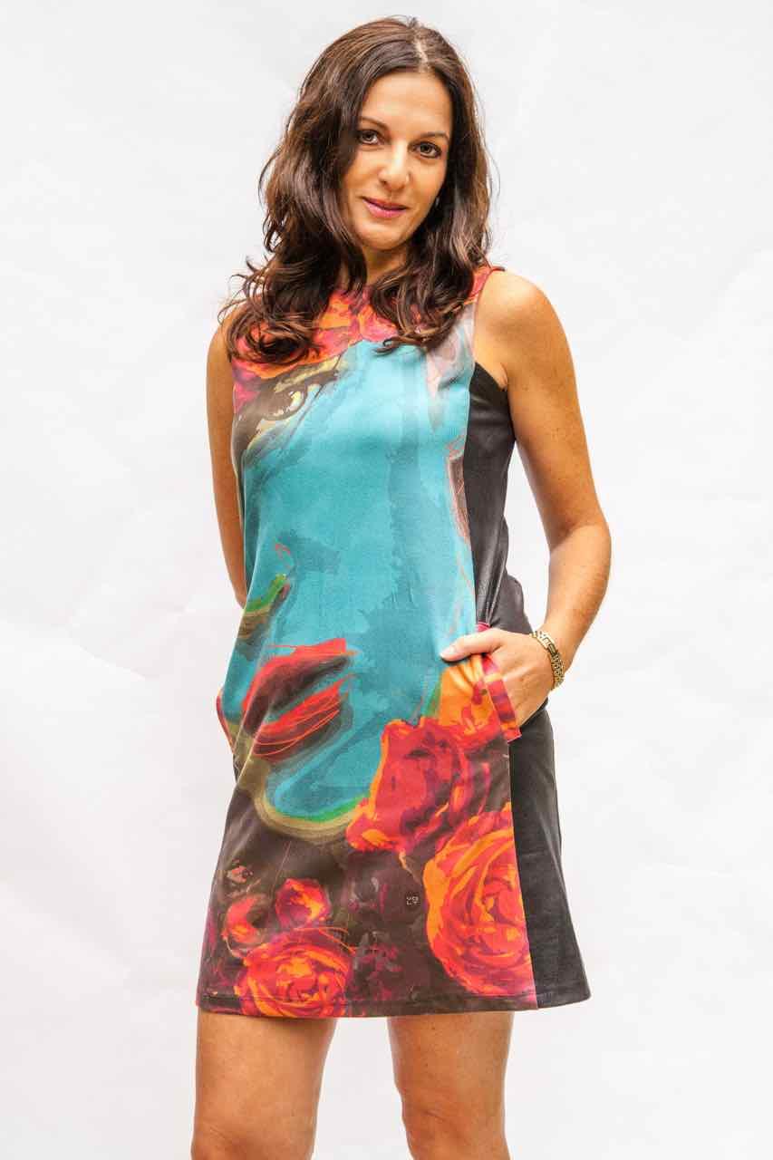 VOLT Design Dress with Lips