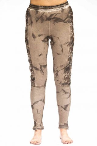 ANVRDIE Leggings Light Brown 1638, Fun Fashion