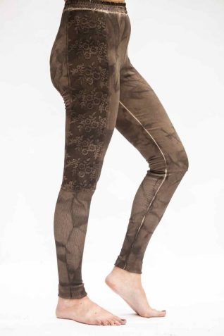 ANVRDIE Leggings Brown 1638