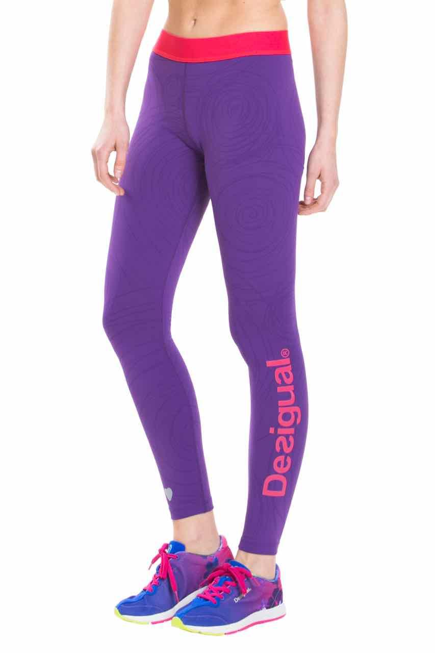 Desigual Pants Naranja (purple), Yoga Leggings