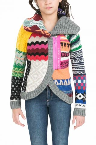 58J34F0_2005 Desigual Girls Sweater Fiodor