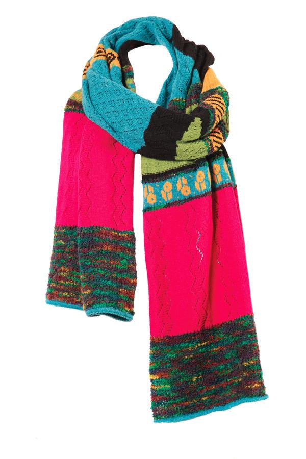 ivko wool scarf intarsia pattern 52637 buy