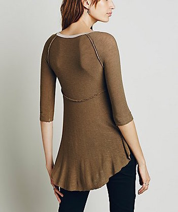 F561F572 Free People Weekends Layering Top Canteen Combo