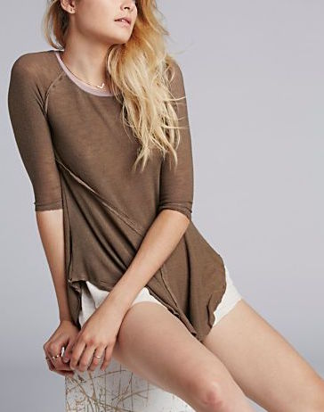 F561F572 Free People Weekends Layering Top Canteen Combo, Brown