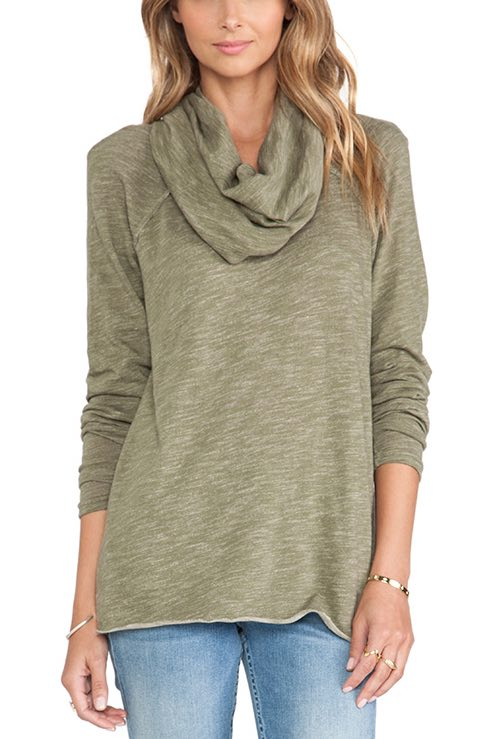 F990F731S Free People Cocoon Cowl Sweater