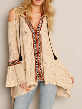 OB415727 Free People For The Love of Flowers Tunic, Canada