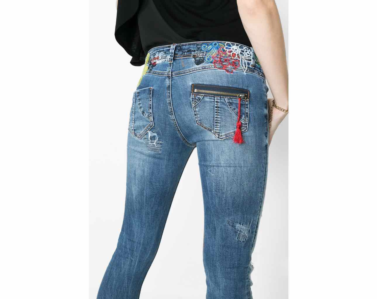 DESIGUAL Jeans DONATO 61D26D3 | Rips & Frays | Canada