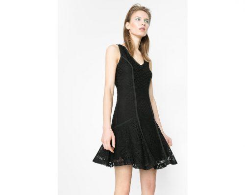 61V2LB2_2000 Desigual Dress Croatia in cardigan