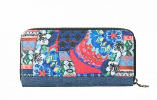 61Y53J5_5001 Desigual Wallet Zip Around Culture Club, Canada