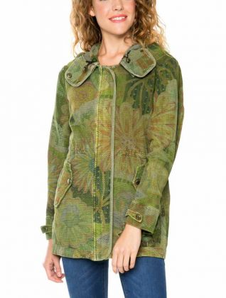 61E29M0_4092 Desigual Military Jacket Merci