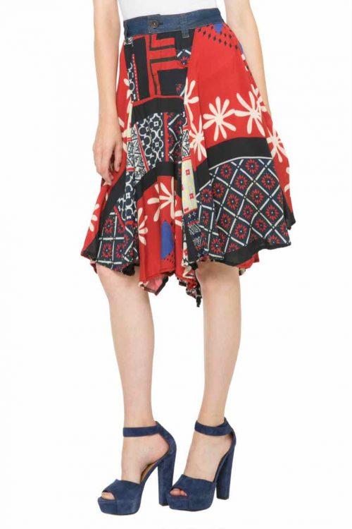 61F27C3_3007 Desigual Skirt Mel, Canada