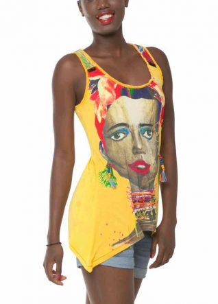 61T24D0_8042 Desigual T-Shirt Trueno, African Top