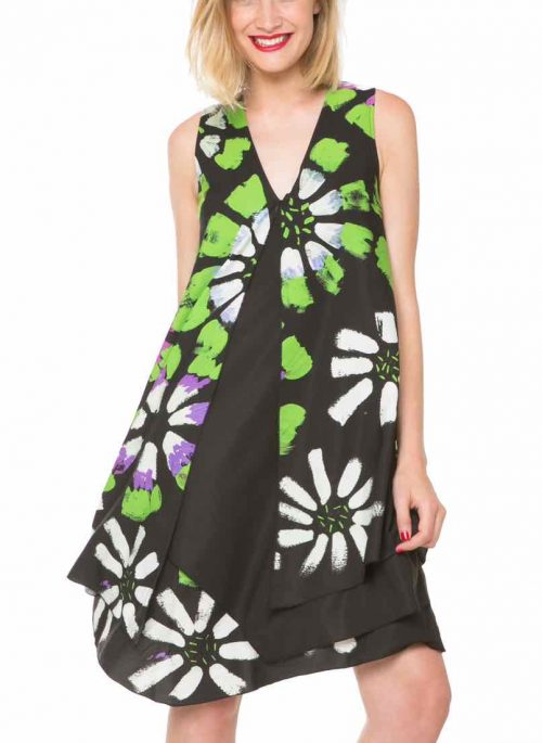 61V28G6_2000 Desigual Dress Eranthe, Layered Dress