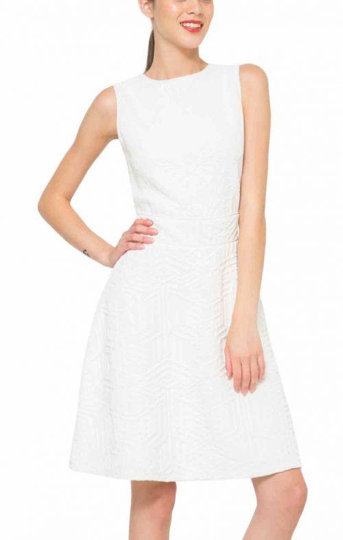 61V2LD2_1000 Desigual Dress Irene, White