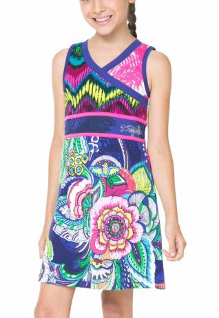 61V32A9_5099 Desigual Girl Dress Yamena
