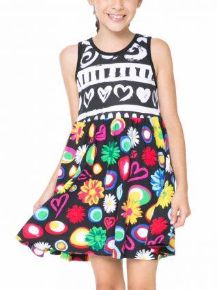 61V32F0_2000 Desigual Girl Dress Kampala