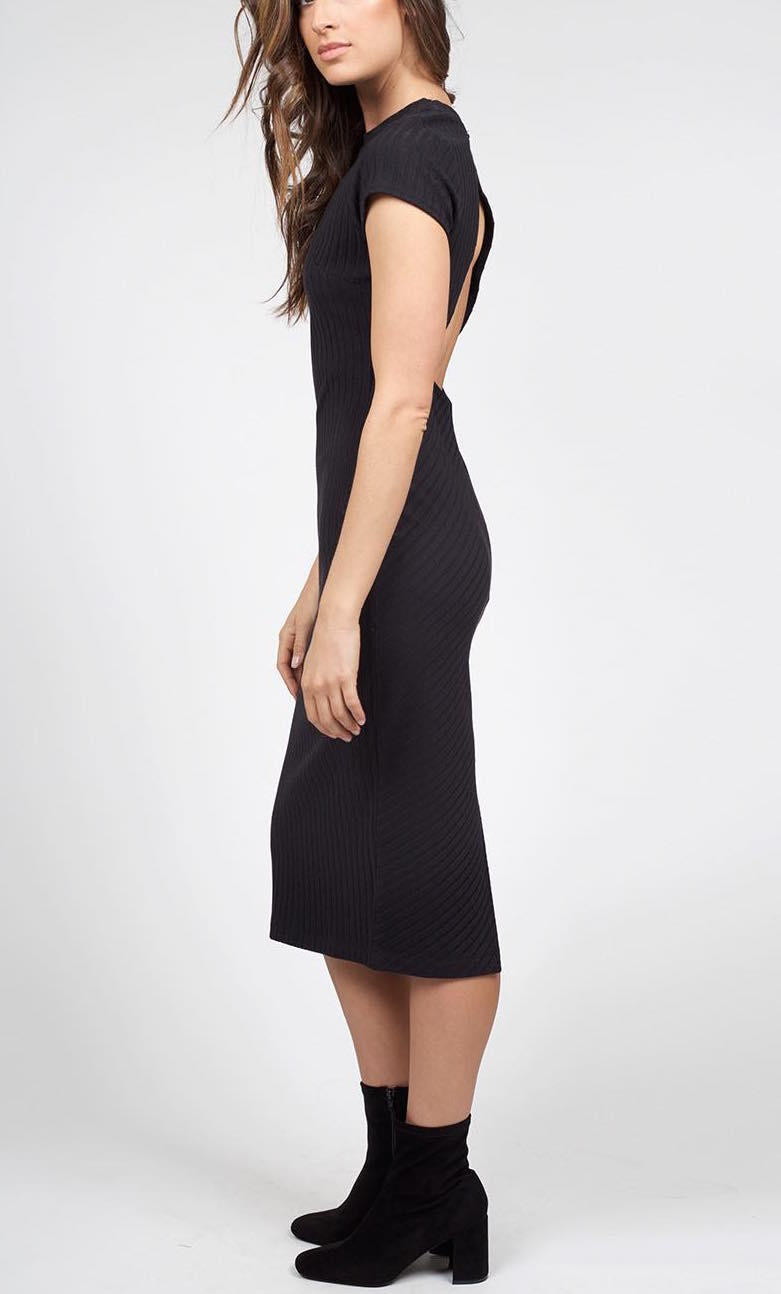 OB466236 Free People Black Dress Heat Wave, Buy Online