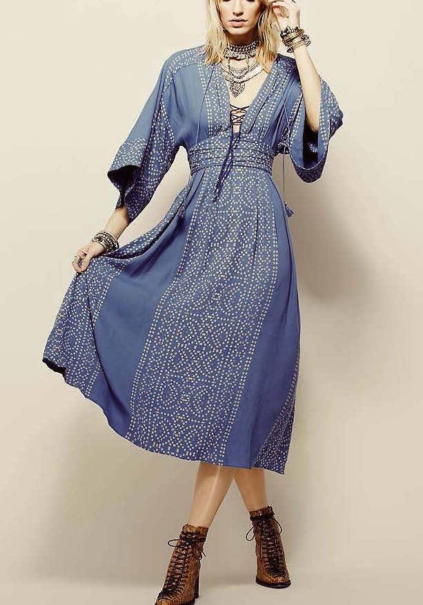 Free People Dress Modern Kimono Ob476335