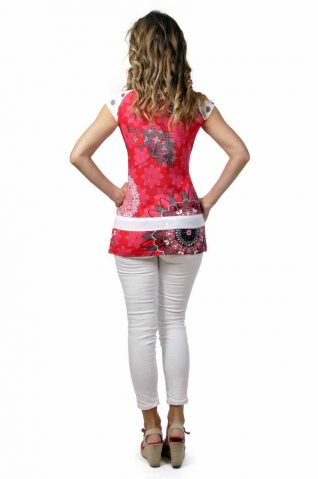 30160-CT Savage Culture Red Top