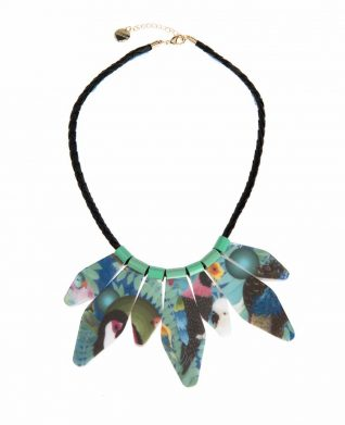 61G55G6_5027 Desigual Necklace Papua unique