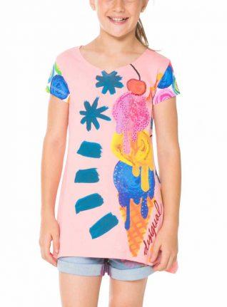 61T30E5_3121 Desigual Girl T-Shirt Virginia