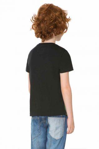 61T36D6_2000 Desigual Boy T-Shirt Urbano back