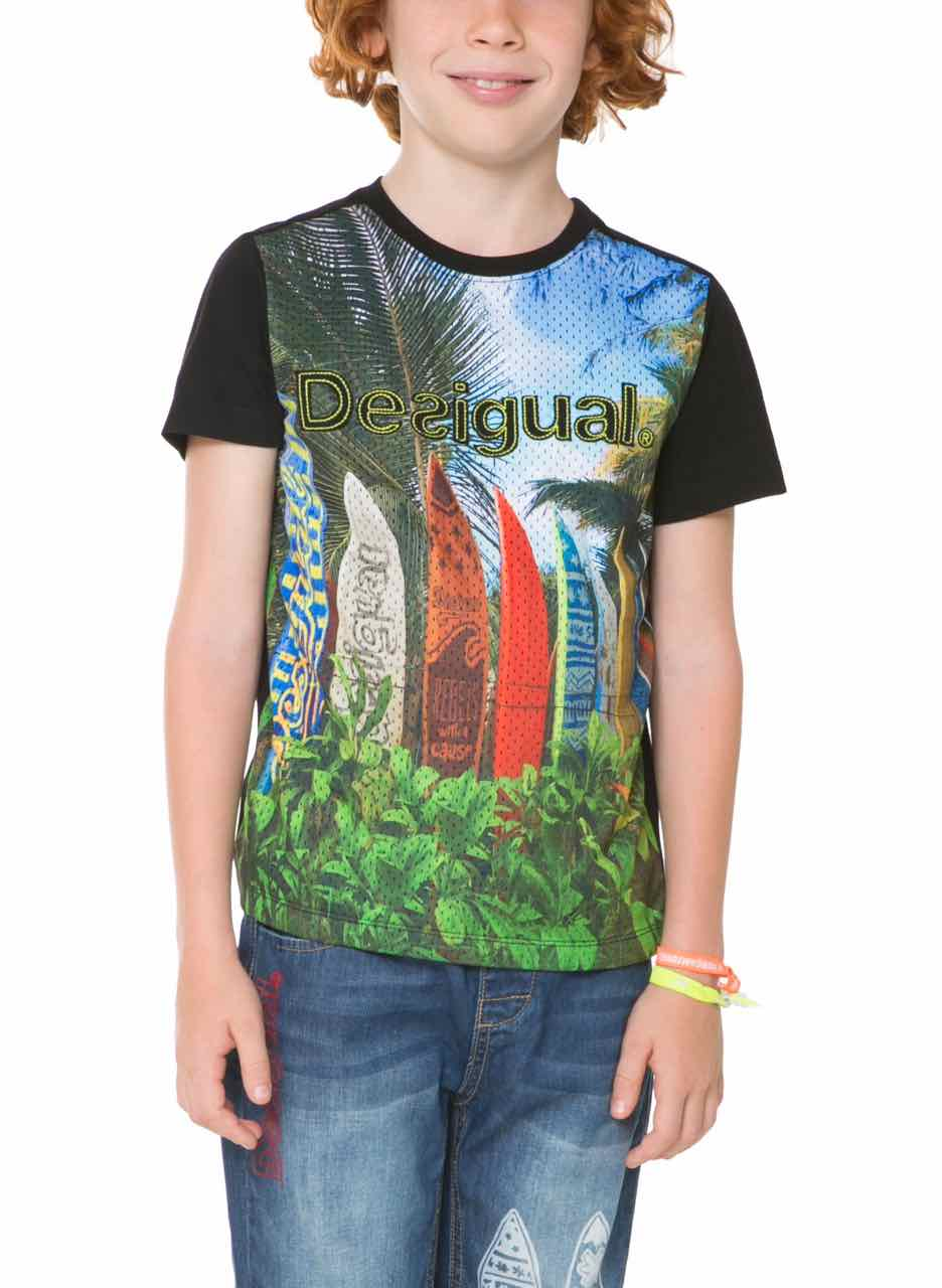 desigual boys t shirt urbano 61t36d6 canada. Black Bedroom Furniture Sets. Home Design Ideas