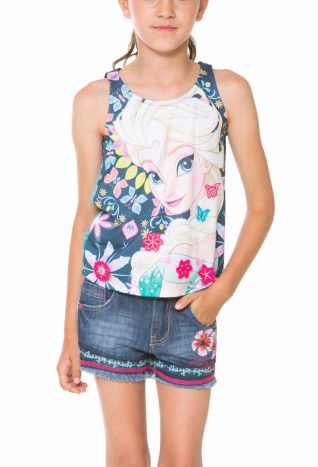 61T3DB0_5000 Desigual Girl T-Shirt Sparks