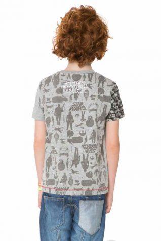 61T3DF5_2042 Desigual Boy T-Shirt Nao back