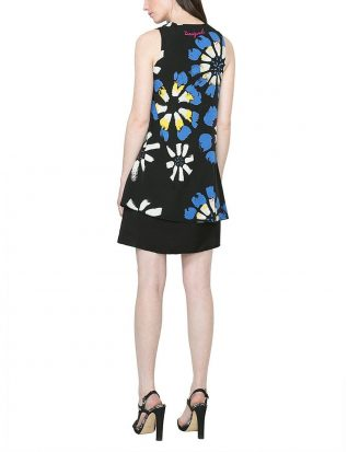 61V28G6_5020 Desigual Dress Eranthe (Blue)