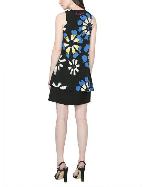 61V28G6_5020 Desigual Dress Eranthe (Blue)